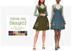 The Sims 4 Custom Content Creator Sims Four, Sims 4 Mm Cc, Sims 4 Mods Clothes, Sims 4 Clothing, Maxis, Vêtement Harris Tweed, Sims 4 Body Mods, Pelo Sims, Sims 4 Dresses
