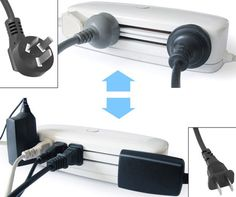 SLIDING MULTI-PLUG POWER STRIP. This slider-style socket idea (in this case rendered by Chen Yinfeng) is actually not brand new. In fact, variants on the core idea date back decades to designs that either failed on the safety front or simply had issues with securing plugs – still, while it might not have worked back then, new materials and internal regulations make this a prime candidate for inventing anew.