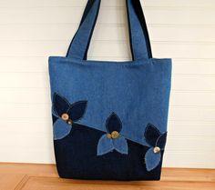 Denim Handbag for Women Work Bag Denim Bag Denim Shoulder Bag Bucket Bag Tote Denim Tote Bag with Pockets Laptop Tote Crossbody Bag Denim Tote Bags, Denim Purse, Bucket Bag, Navy Blue Purse, Tote Bag With Pockets, Bow Bag, Laptop Tote, Work Tote, Denim Shoulder Bags
