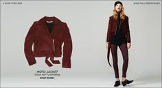 Move over Summer, Fall is in full swing! Here are 5 stylish Fall fashion pieces to your complete your wardrobe. Let's start with the leather pencil skirt Fall Wardrobe Essentials, Fall Capsule Wardrobe, Moto Jacket, Leather Jacket, More Cute, Casual Chic, Autumn Fashion, Street Style, Style Inspiration