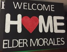 Missionary homecoming poster Missionary Homecoming, Homecoming Signs, Homecoming Posters, Missionary Gifts, Sister Missionaries, Welcome Home Posters, Welcome Home Signs, Welcome Home Parties, Welcome To The Party