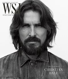 Not whining: Christian Bale said celebrities like George Clooney should just 'shut up and get one with it' rather than complain about the pitfalls of fame in a new interview with the Wall Street Journal