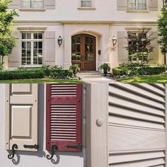 Bring colour and style to your home's exterior in spring 2017 with adding mock external shutters.  Check out our website exteriorshutters.ie or call our showroom in Monkstown on 018359555 for a quote. #externalshutters #shutterco #newhampshireinteriors #irishhomes #gardenready #springhassprung #louverddoors #raisedpanel #gardenideas #inspire