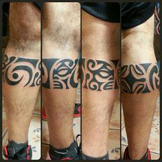 Maori leg band