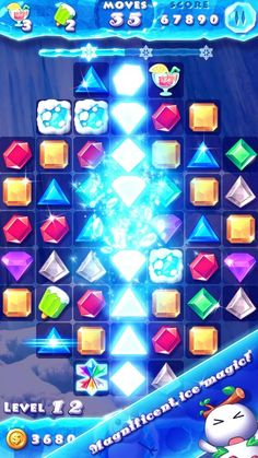 #icecrush #androidgames #iphonegames #ipadgames #match3 #matching #match3games…