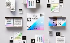 Interior, print and packaging designed by Bond for Helsinki-based coffee shop, roastery and barista institute Paulig Kumla