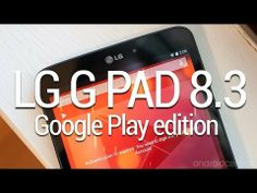 The new LG G PAD 8.3 truly awesome.