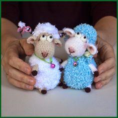 Грушки И ДелкиPRO. Вязаные крючком.: Раз овечка...