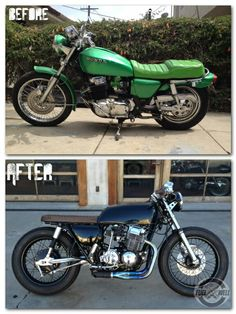 Let the Fuel Well crew transform your dreams into reality.  #Custommade #caferacer #bratstyle #LosAngeles #Restoration #Rebuilt #HondaCB #Honda #Suzuki #Fuewellmoto