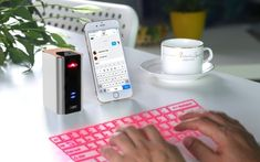 Bluetooth Laser Projection Keyboard with Keyboard Mouse Speaker 3 in 1 for Iphone Ipad Android Smartphone Blackberry 10 Tablet Phone keyboard projector Tablet Phone, Android Smartphone, Laptop, Iphone 5s, Apple Iphone, Phone Projector, Headphone Splitter, Blackberry 10, Cell Phone Plans