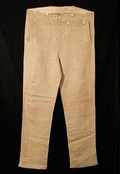 moleskin pants worn by the men during the Califonia, Goldrush