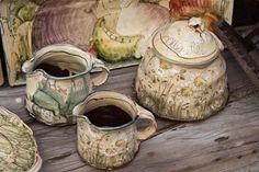 Ceramic Clay, Ceramic Pottery, Hand Painted Plates, Chawan, Tea Pots, Creations, Artisan, Ceramics, Crafts