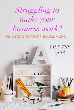 If you've been struggling with your business for a while, it might be because you are trying to launch a business that is not the BEST fit for you. There are 5 different brand chemistry types, find out yours by signing up and taking this FREE quiz. #business