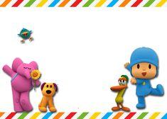 Invitaciones de cumpleaños de pocoyo Party Kit, Baby Party, Party Ideas, Baby 1st Birthday, Birthday Parties, Birthday Ideas, Luigi, Ballerina Party, Backdrops For Parties