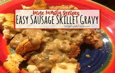 Easy Sausage Skillet Gravy
