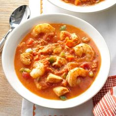 Seafood Soup Recipe from Taste of Home -- shared by Balerie Bradley of Beaverton, Oregon