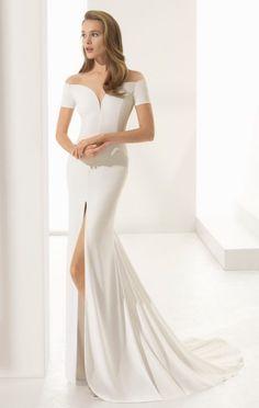Featured Wedding Dress: Rosa Clara; www.rosaclara.es/en; Wedding dress idea.