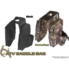 ATV Saddle Bag with Cup Holder for Dad
