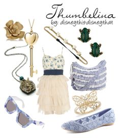 Disney inspired clothing by disneythis-disneythat. Thumbelina. (I wish this wasn't blurry)