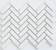 Academy Tiles - Ceramic Mosaic - Herringbone Mosaics - 83478