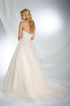 Sleeping Beauty Inspired Wedding Gown - 2015 Disney's Fairy Tale Weddings by Alfred Angelo