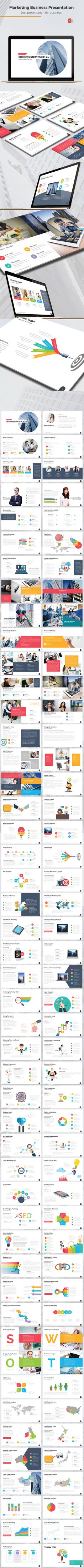Marketing Business Presentation — Powerpoint PPT #diagram #presentation template • Download ➝ https://graphicriver.net/item/marketing-business-presentation/19235454?ref=pxcr
