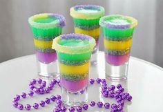 King Cake Jelly Shots | HowToInstructions.Us