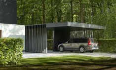 Carport Plans, Carport Garage, Pergola Carport, Gazebo, Car Porch Design, Garage Design, House Design, Arch House, Facade House