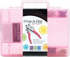 Crop-A-Dile Carrying Case-Pink