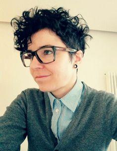 Short Lesbian Hairstyles 96