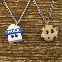 Milk and Cookie Best Friend Necklace  @Lo McCoy @Malarie Wheeler   Would you wear this with me?