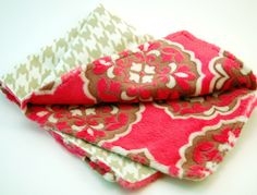 Everything you need to make your own cuddly minky and flannel burp cloths. Make Your Own, Make It Yourself, Minky Fabric, Burp Cloths, Cuddling, Flannel, Sunglasses Case, Kit, Clothes