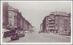 1942 Old Pictures, Old Photos, Czech Republic, Prague, Street View, Black And White, Retro, Historia, Mountaineering