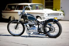 Since the 1950s, Mooneyes has been at the heart of Californian custom culture. So when owner Shige Suganuma decided to commission a bike for himself, he turned to one of the best: Master fabricator Lucas Joyner, founder of The Factory Metal Works. The result is one of the coolest vintage Triumphs we've seen for a long time, and it's one of the stars of the 2014 Bike EXIF wall calendar. Get your copy from https://www.octanepress.com/book/bike-exif-custom-motorcycle-calendar-2014