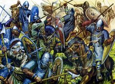 Fav Medieval Pics - Page 18 - Armchair General and HistoryNet >> The Best Forums in History Medieval World, Medieval Knight, Medieval Fantasy, Military Art, Military History, Norman Knight, Ottonian, Early Middle Ages, Renaissance