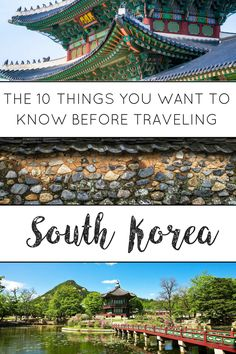 From customs to weather, everything you need before traveling to South Korea!