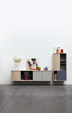 Sectional storage wall C_DAY - CESAR ARREDAMENTI