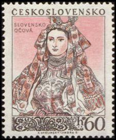 Costume of Ocova, Slovakia Princess Zelda, Disney Princess, Postage Stamps, Disney Characters, Fictional Characters, Folk, Aurora Sleeping Beauty, Culture, Costumes