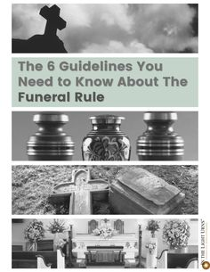Is your funeral home requiring you to buy an entire package of services? This is not legal!🚫 The Funeral Rule states all businesses that offer funeral goods and services MUST sell every service separately and just offer packages as suggestions. Check out this list of everything the Funeral Rule covers and what funeral businesses can and cannot do ⤵