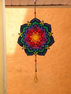 Mandala em PVC