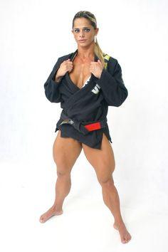 muscle karate woman fight