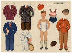 78.6749: Ankleidepuppen Nr. 2503 | paper doll | Paper Dolls | Dolls | National Museum of Play Online Collections | The Strong