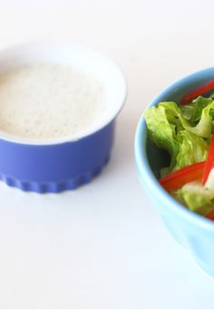 Hemp Seed Dressing This dairy-free salad dressing is perfect for any vegetables or greens. It's rich and creamy and full of healthy fats. Healthy Lunches, Healthy Salads, Healthy Fats, Sugar Free Recipes, Vegan Recipes, Dairy Free Salads, Hemp Seeds, Side Recipes, Salad Bowls