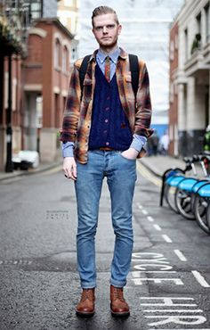 I'm a sucker for cardigans...probably not so much the flannel, but I'd happily wear the rest.