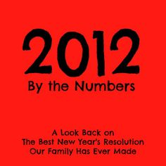 A look back on the best New Year's Resolution our family has ever made.  By 52 Brand New