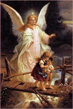 Do you think you have a Guardian Angel standing there behind you looking out for you. Have you ever seen a Guardian Angel? Do you believe in Guardian Angels.