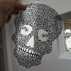 Cut from a single piece of black paper