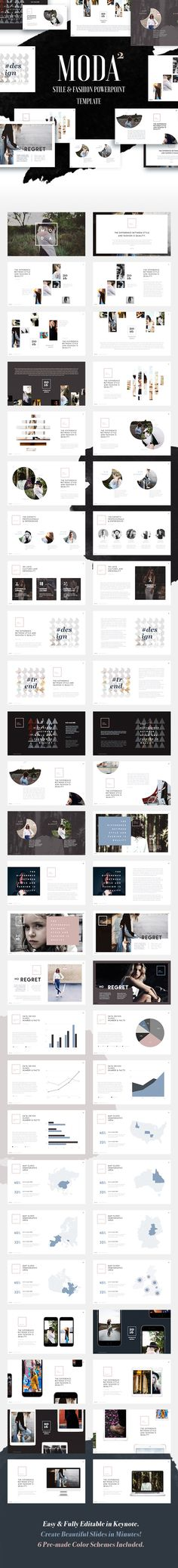 Fashion and Style Powerpoint Template (Moda 2) - PowerPoint Templates Presentation Templates