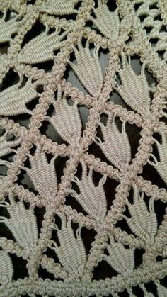 Romanian lace - detail