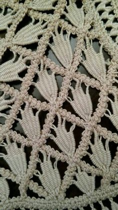 Needle lace example more – Artofit Freeform Crochet, Irish Crochet, Crochet Motif, Crochet Designs, Crochet Lace, Crochet Stitches, Tatting Patterns, Lace Patterns, Crochet Patterns